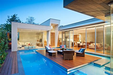house with pools striking home in canterbury australia by canny