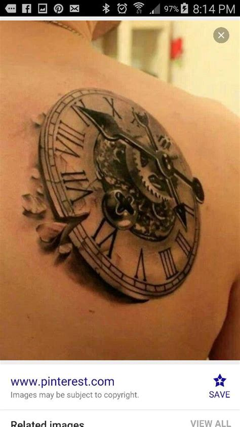 clock awesome 3 d effect great detail work and shading