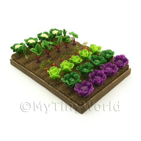 dolls house garden dolls house miniature garden 7 strips of various miniature vegetables for the