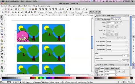 inkscape tutorial animation inkscape comic tutorial doovi