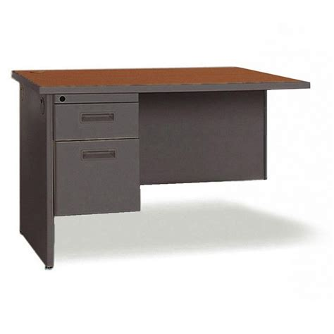 48 inch office desk lorell right desk return 48 quot width x 24 quot depth 2 x box