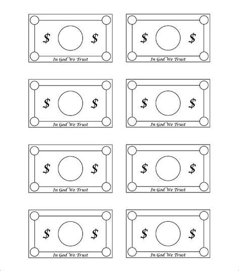 custom play money template ananias and sapphira