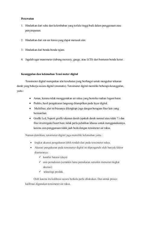 cara membuat laporan hasil praktikum kimia laporan praktikum diagnostik tensimeter digital