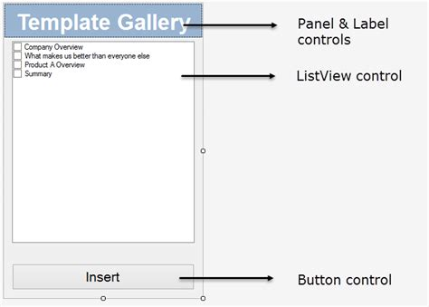 ui layout pane center powerpoint ui customization custom ribbons toolbars menus
