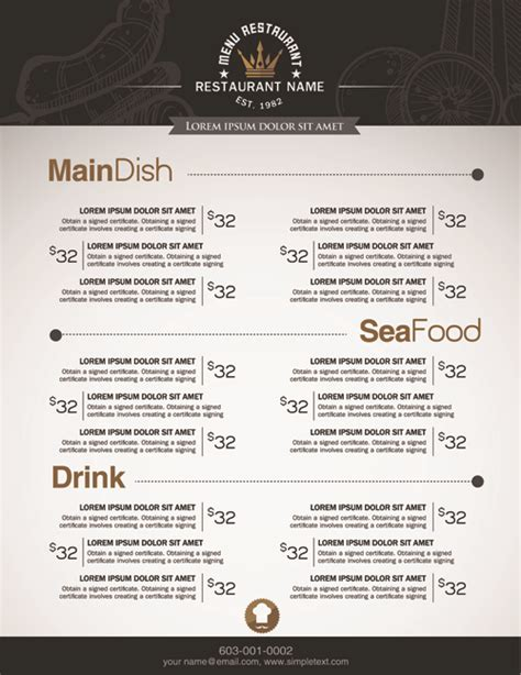 menu price list template kfc menu price list 2015 new calendar template site