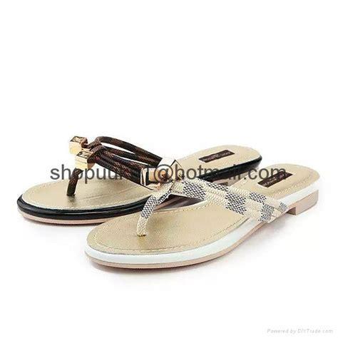 Sandal Flipflop Lv 6225 Sale louis vuitton flip flops slide sandal lv flipflop sandals fashion