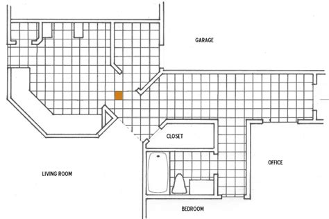 how to plan floor tile layout laying ceramic tile learn how to lay ceramic tile