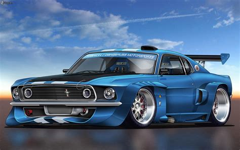 anime mustang ford mustang