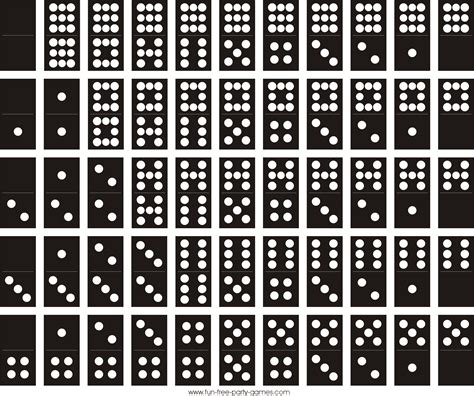 printable domino directions dominoes game rules and strategy best traditional table