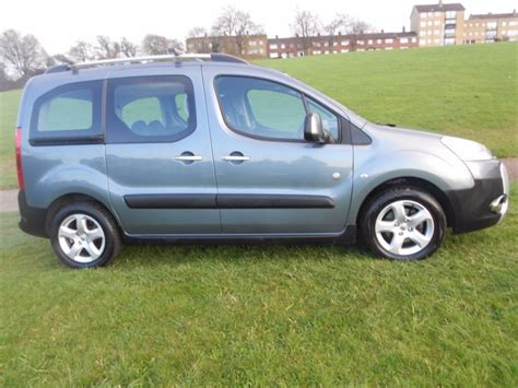 peugeot partner tepee for sale used used grey peugeot partner tepee for sale hertfordshire