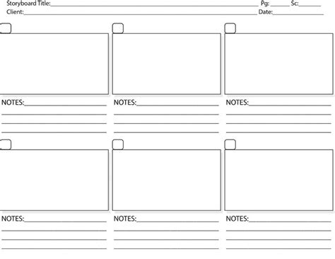 Storyboard Template Pdf Print Storyboard Tem Staging Window Ideas Pinterest Templates Storyboard Template Pdf