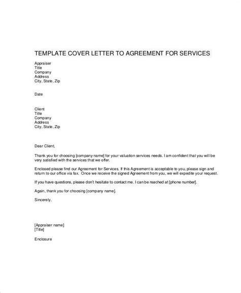 Service Letter Number 39a Agreement Letter Exles