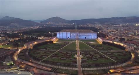 reggia di caserta ingresso gratuito la reggia di caserta vista da un drone immagini