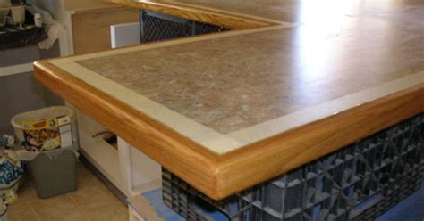 countertop edging trim images laminate countertop