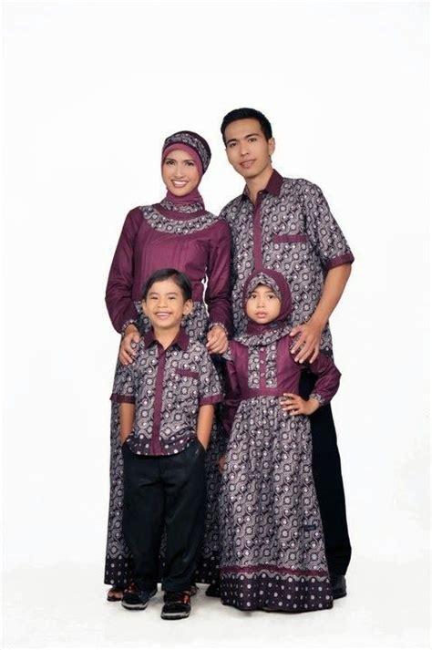 Baju Muslim Anak 3d busana muslim keluarga ayah ibu dan anak model