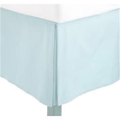 aqua bed skirt amazon com js sanders solid bedskirt full size light