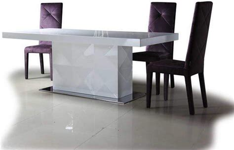 contemporary dining room table high end rectangular furniture dining room sets