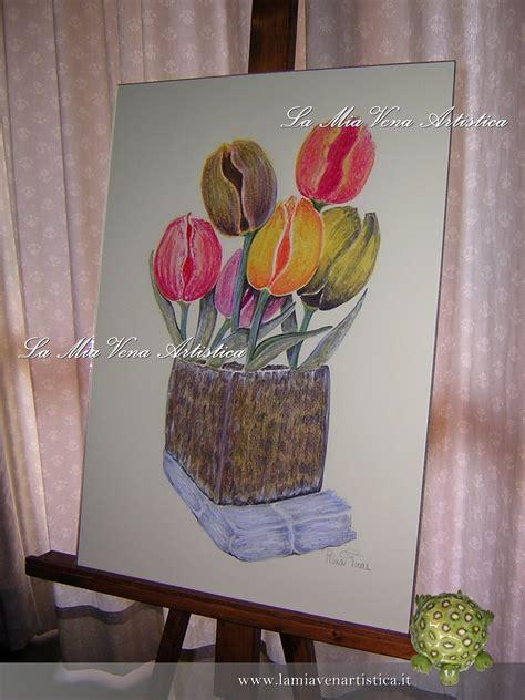 vaso per tulipani vaso di tulipani