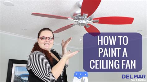 how to paint a ceiling fan how to paint a ceiling fan youtube