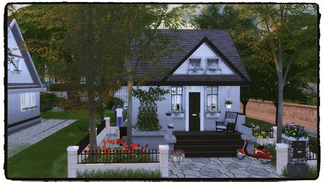 cozy house sims 4 small but cozy house dinha