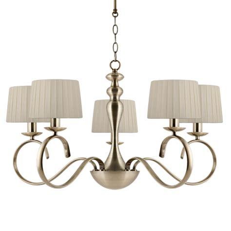 antique brass ceiling lights ajp lighting 3006la 5pcu elea 5 light antique brass