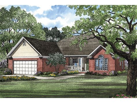 Ranch Style Home Floor Plans Brisbane Bay Ranch Home Plan 055d 0026 House Plans And More