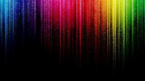 Rainbow Matrix fond ecran hd