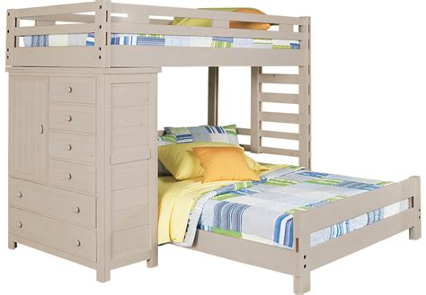 Student Bunk Bed Creekside Wash Student Loft Bed With Chest Bunk Loft Beds