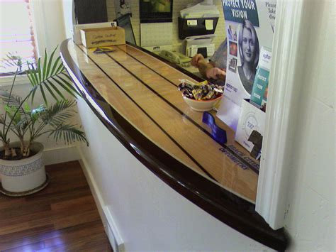 surfboard bar top american bartop surfboard repair resin bars tabletops board repairs