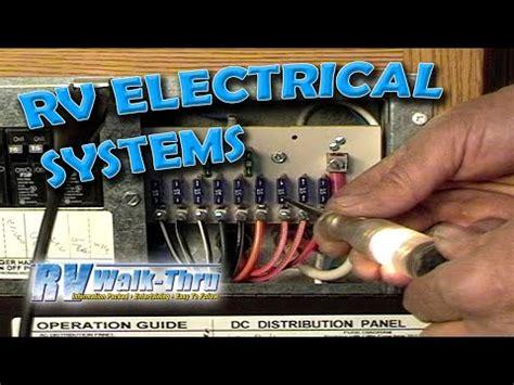 rv walk  electrical learn   electrical system