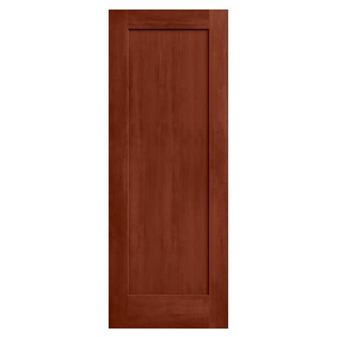 24 X 72 Interior Door Jeld Wen 24 In X 80 In Amaretto Stain Molded Composite Mdf Interior Door Slab