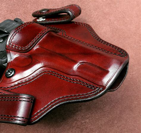 custom leather gun holsters