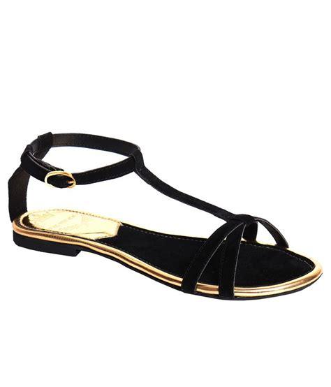 flatshoes r 22 zoe skodon black flat sandals price in india buy zoe