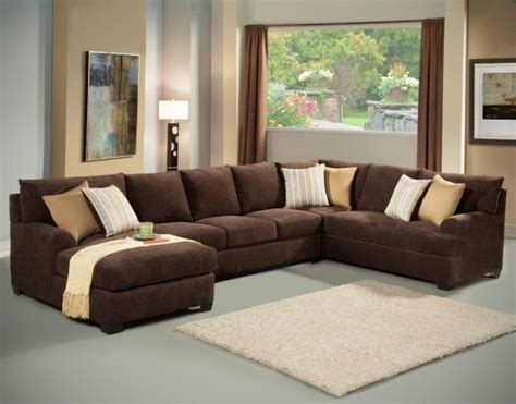 Large Sectional Sofas With Chaise Smileydot Us Large Brown Sectional Sofa