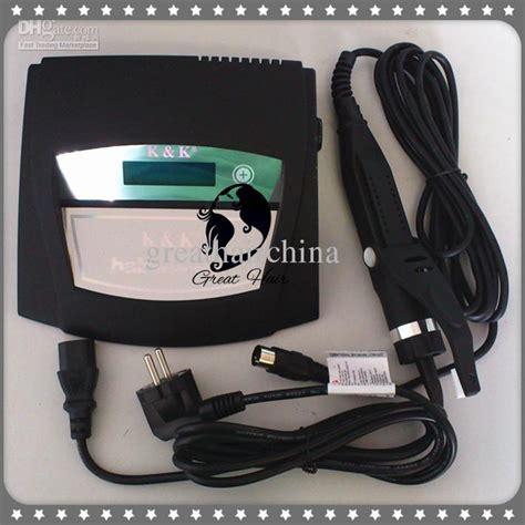 hair extension machine digital ultrasonic hair extension connector