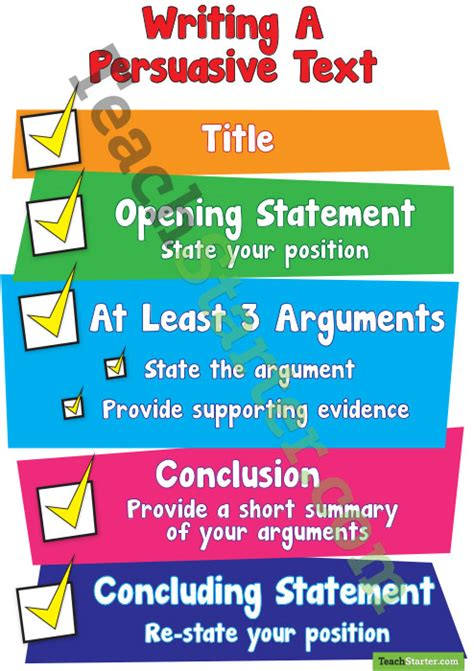 Writing A Persuasive Text Poster Search Results For Persuasive Text