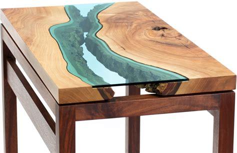 japanese esszimmertisch fiumi di vetro sui tavoli di greg klassen