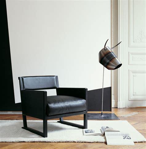 musa leather armchair by maxalto a brand of b b italia