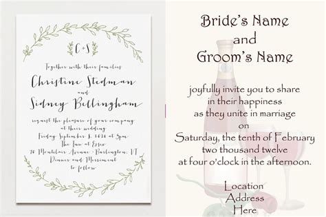 Wedding Invitation Wording For Third Marriage by No Need To Intimidate With Your Wedding Wording Here S