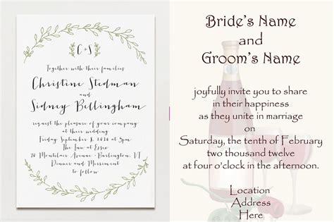 wedding invitations no children no at wedding midway media