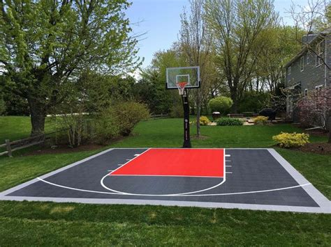 32 best images about backyard basketball courts on
