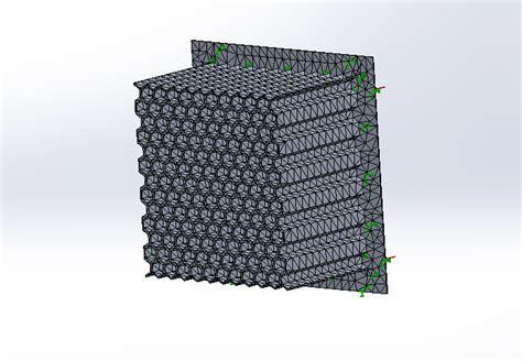 solidworks tutorial honeycomb impact attenuator honeycomb crashbox solidworks 3d