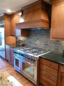 Stone Kitchen Backsplashes by Stone Backsplash Tammy Kitchens By Design Omaha