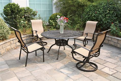grand tuscany patio furniture black white and gold living