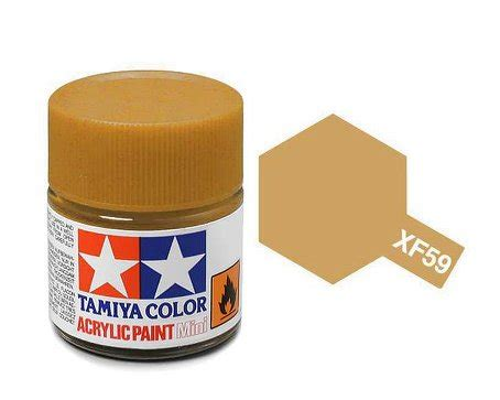 Murah Tamiya Enamel Xf59 tamiya paint acrylic mini xf59 desert yellow 10ml bottle paint