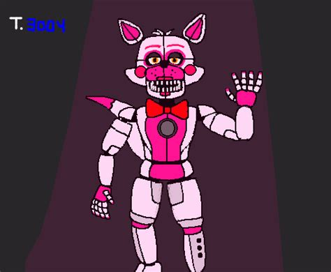 funtime foxy vf desenho de tales gartic