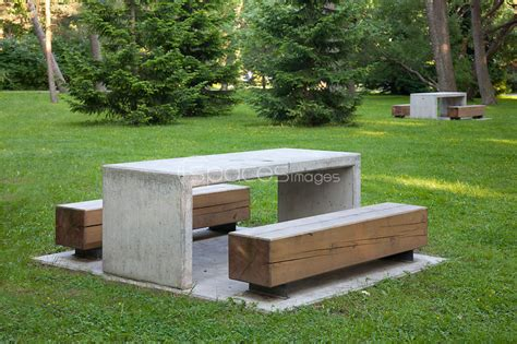 park benches and tables stock photos simple park benches and tables stock
