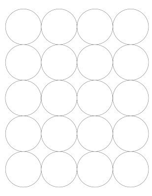 Best Photos Of Circle Template For Cutting Out Different Size Circle Cut Out Templates Inch Circle Cut Out Template