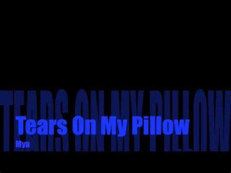 tears on pillow