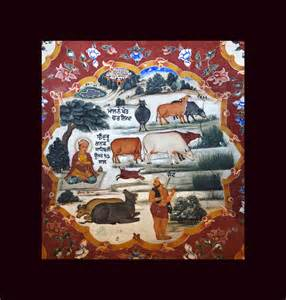 Wall Mural Paintings wall paintings sikh mural paintings at gurudwara baba